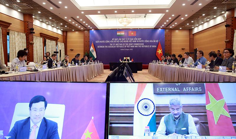 Việt Ấn hợp tác quốc phòng, khẳng định giải quyết tranh chấp Biển Đông phải dựa trên UNCLOS