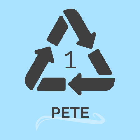 plastic recycling number 1 -PETE