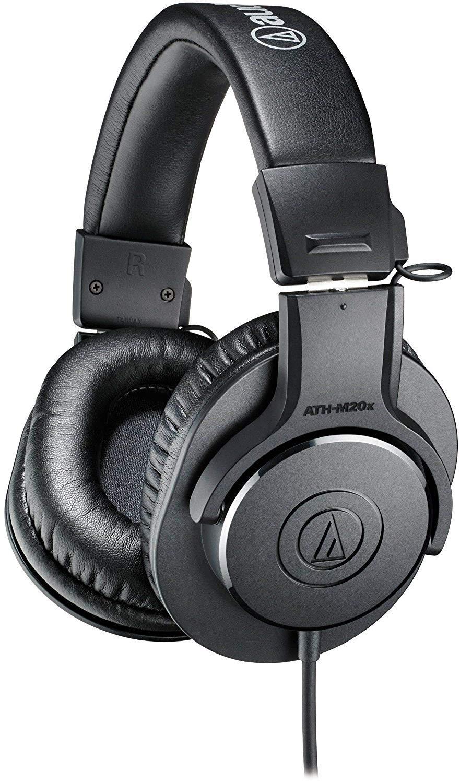 Audio-Technica ATH-M20x Over-Ear Professional Studio Monitor Headphones