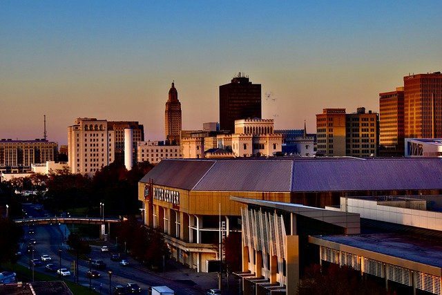 Baton Rouge, LA Skyline
