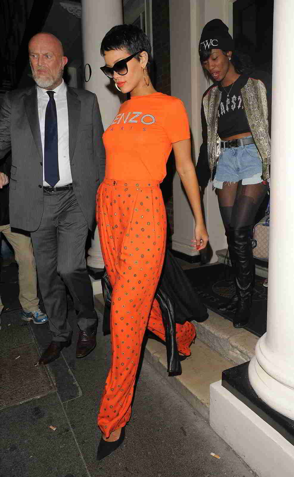 Rihanna Style Dress Jandese Reped