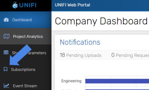 Web Portal Dashboard