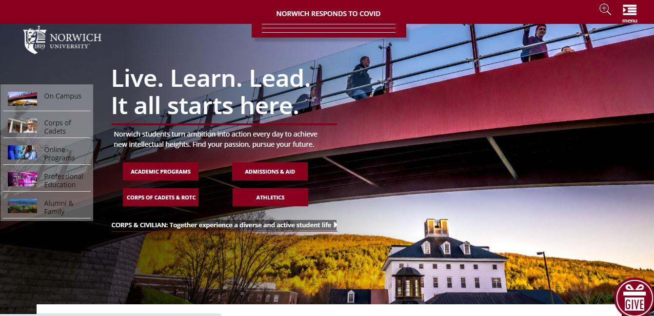Norwich university online cybersecurity degree