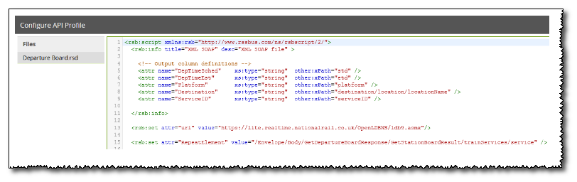 Authentication With API Profiles