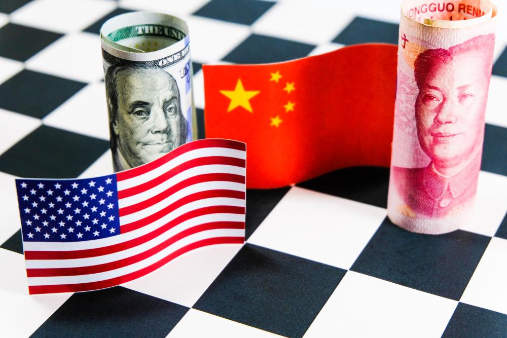 Relações dos EUA com a China devem ser menos conflituosas na nova gestão. (Fonte: Shutterstock)
