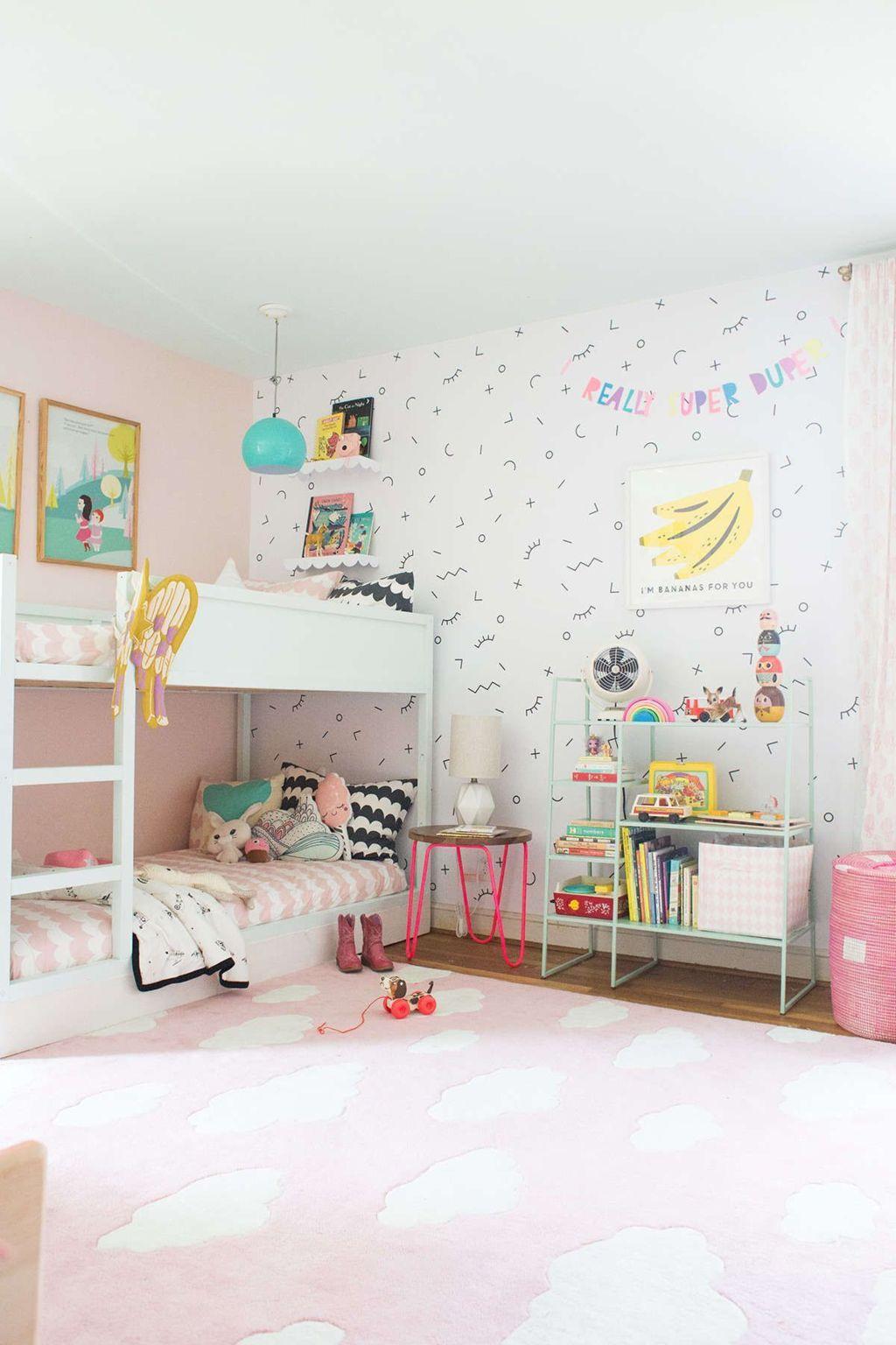 Create Bunks for Shared Girl Bedroom