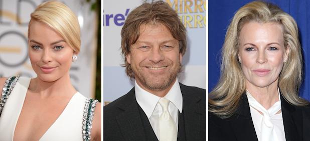 Casting: Margot Robbie, Sean Bean, Kim Basinger, and More