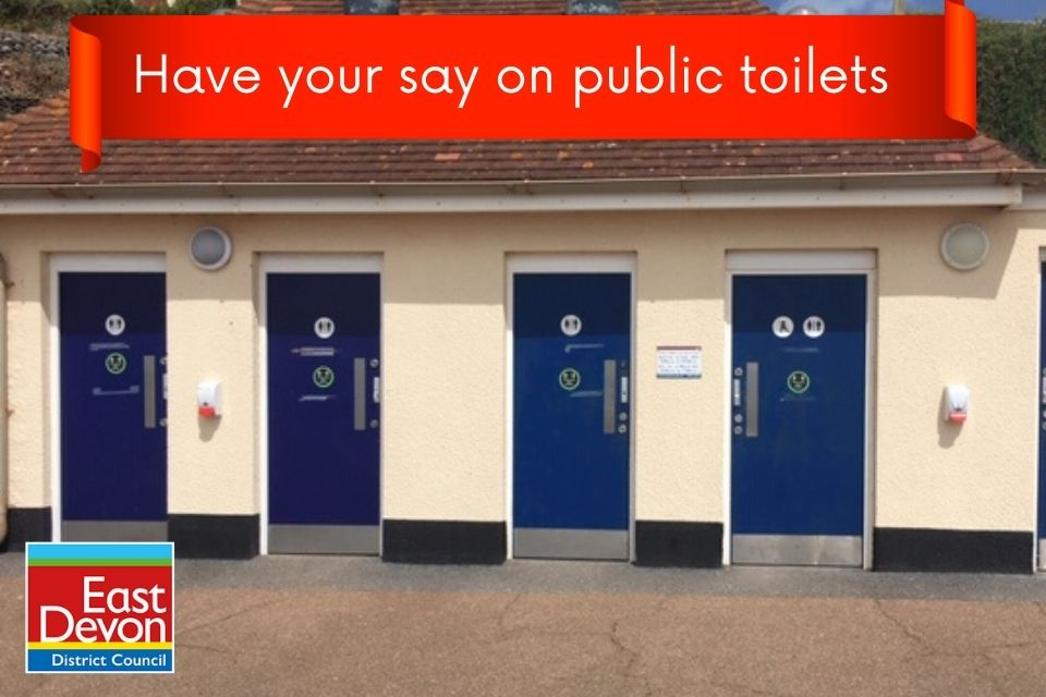 Have your say in the public toilet consultation.