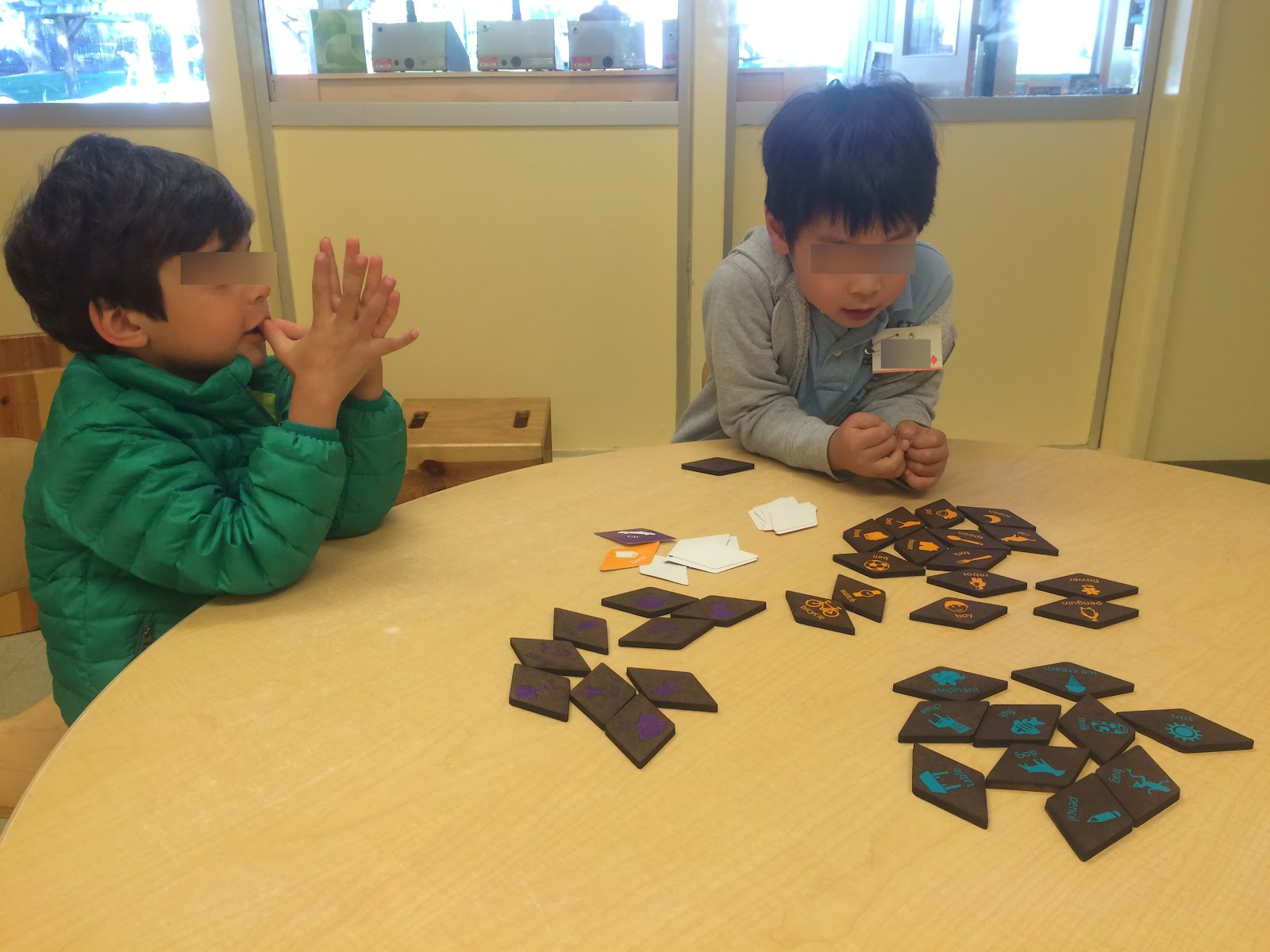 Figure14. Children at Bing Playing with Rhombus Rumbles