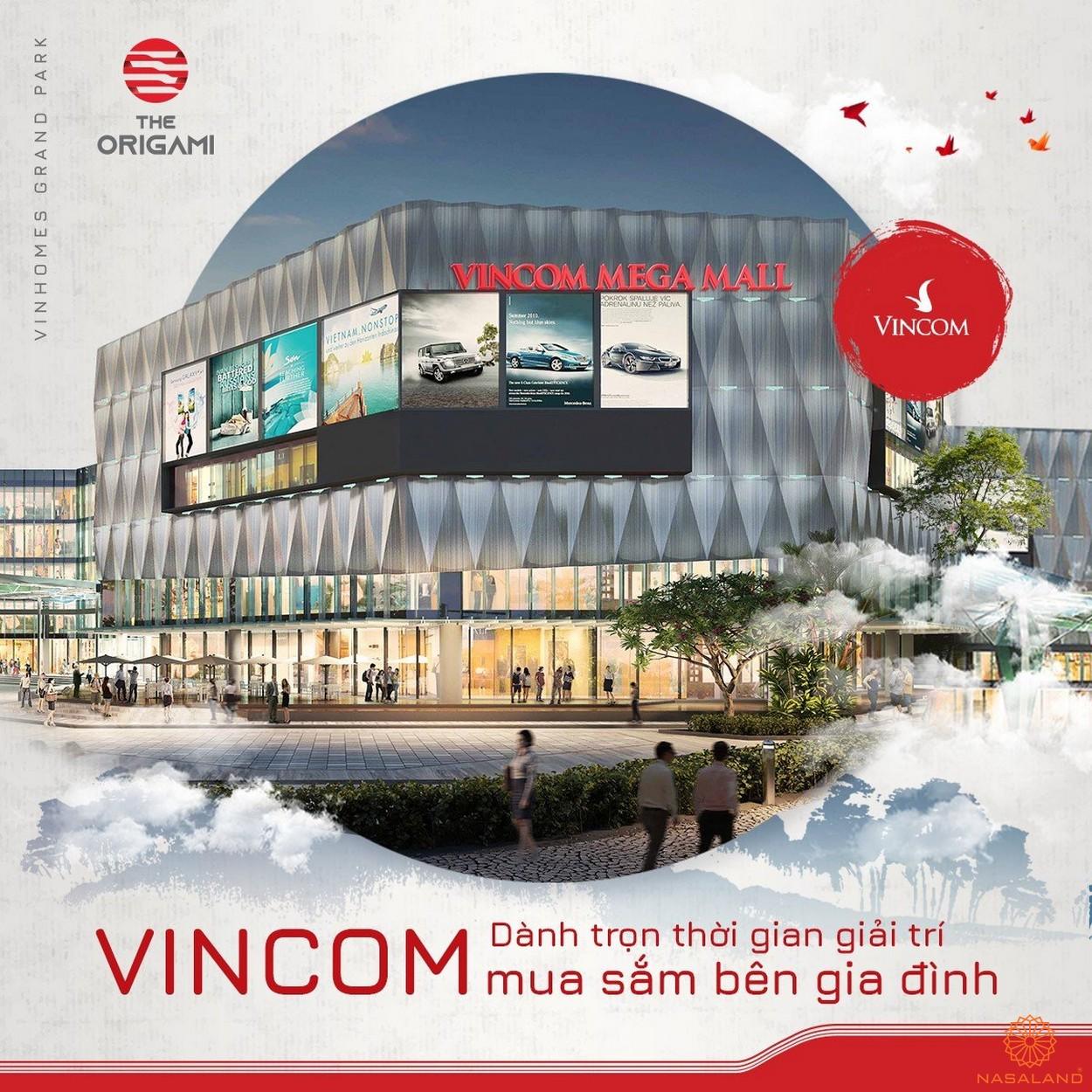 Phối cảnh tiện ích TTTM Vincom Mega Mall Vinhomes quận 9