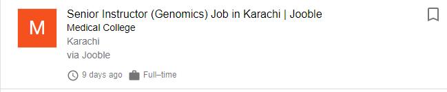 True Scope of Genetic Engineering in Pakistan [Career, Jobs, Salary] 10 - Daily Medicos