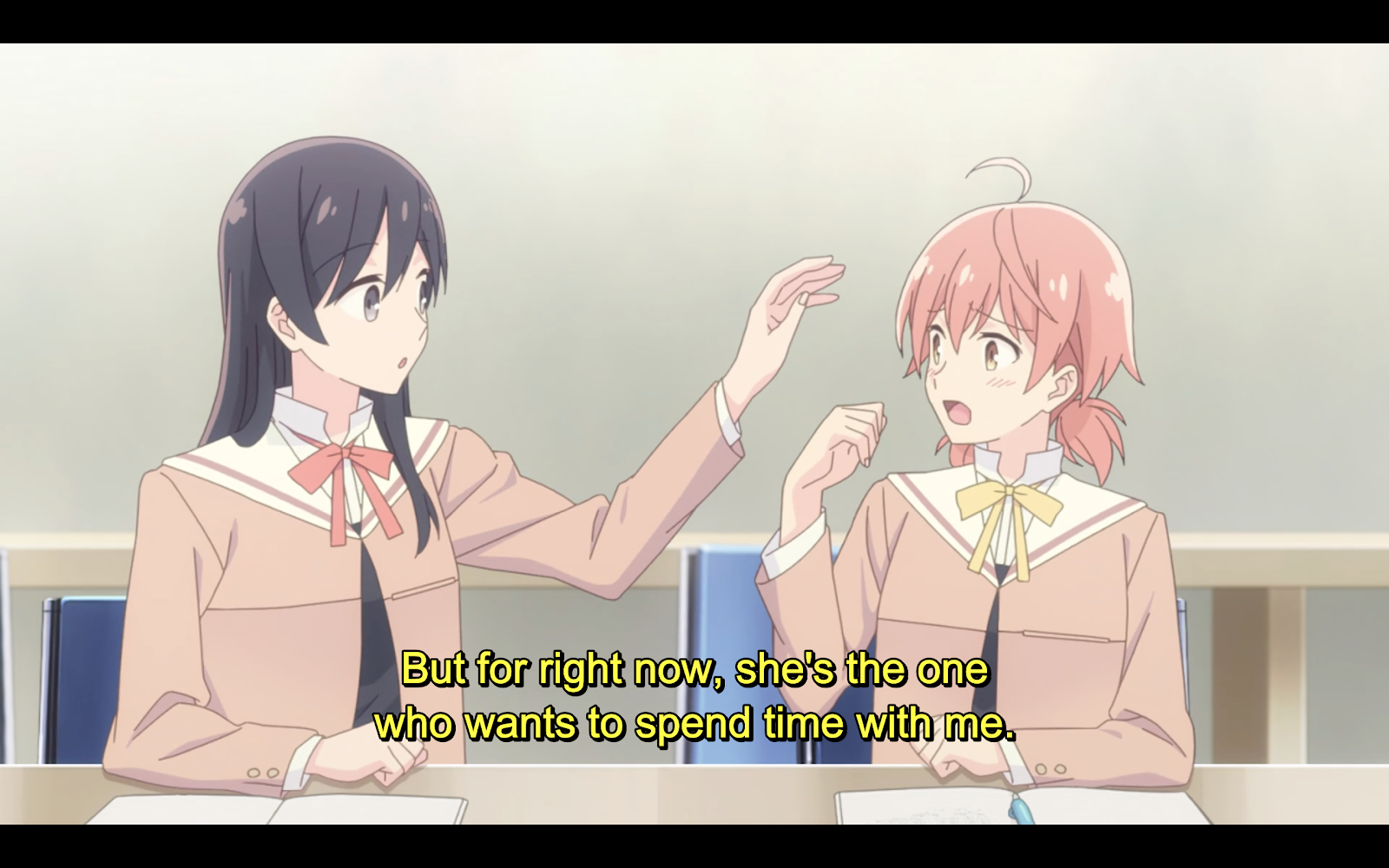 Aex Anime crunchyroll - bloom into you and exploring asexuality