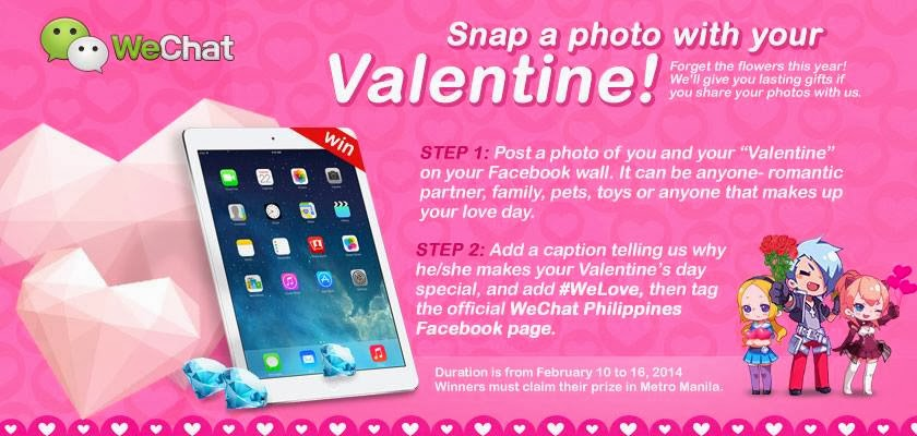 WeChat Snap a Photo with your Valentine