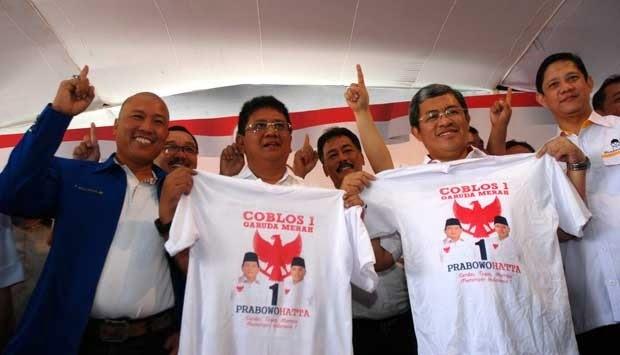 Kaos Prabowo Laris Manis Di Malang