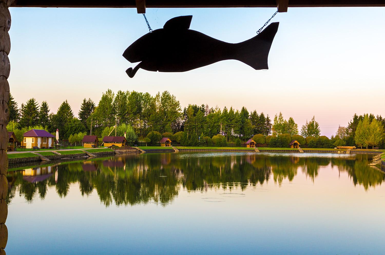 Можно выловить рыбу в собственном озере