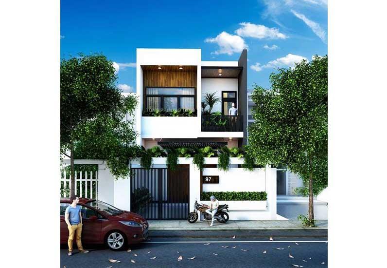Thiết kế nhà phố xinh lung linh với giá cả phải chăng?