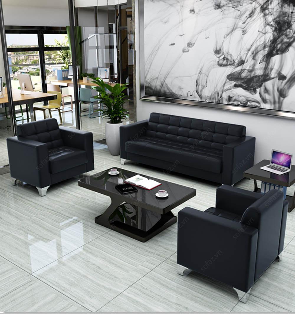 Thiết kế nội thất văn phòng tối giản hiện đại
