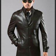 jaket kulit korean style pria