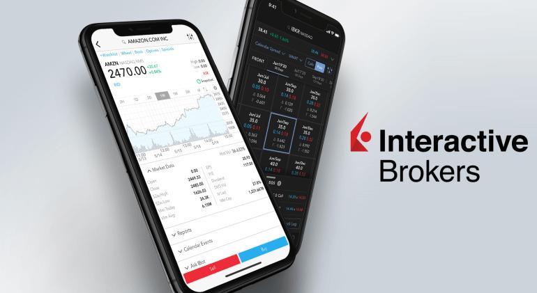 Aplikasi mobile trading dari Interactive Brokers
