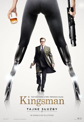 Polski plakat filmu 'Kingsman: Tajne Służby'