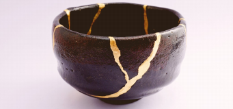 Add a sparkle of gold to yourthinking kintsugi