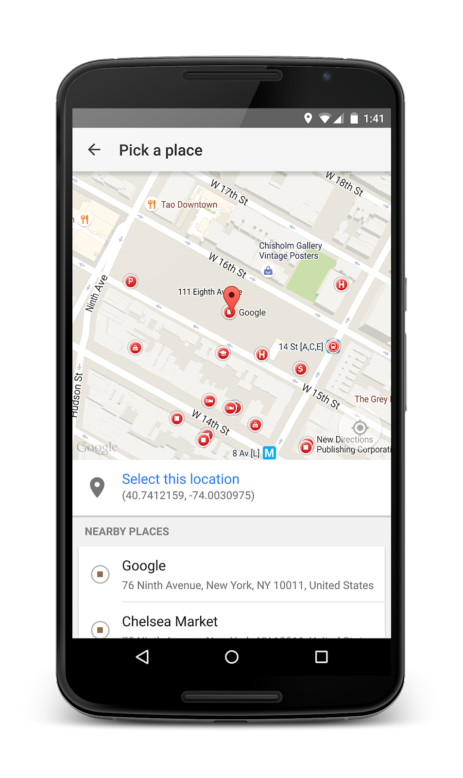 how to open snap map on android