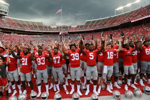 Ohio State football hosts Rutgers on Saturday in Ohio Stadium.