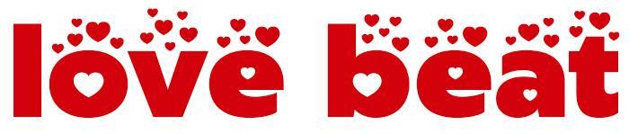 Love Beat Font