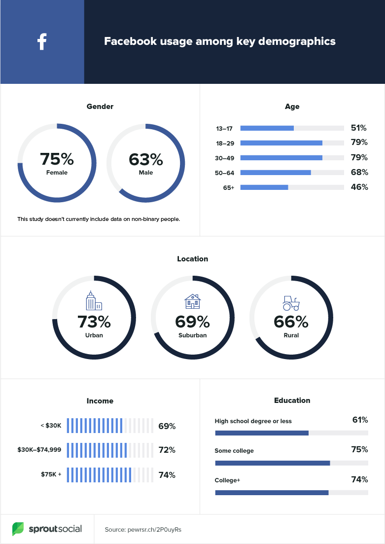 Key facebook demographics
