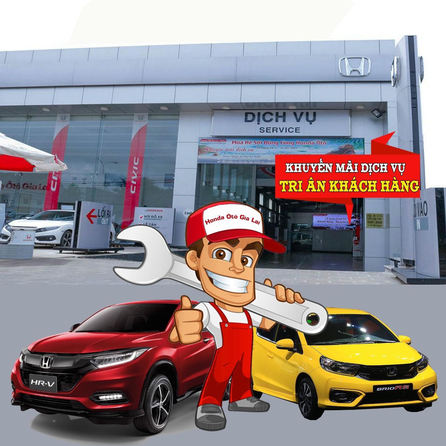 Dịch vụ Honda Ôtô Gia Lai – Pleiku tri ân khách hàng cuối năm  - Ảnh 1