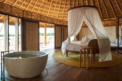 Bungalow at Hotelito Desconocido.  Leave the stresses of life behind
