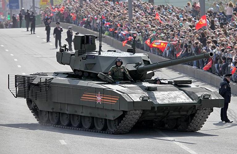 Перспективний російський танк Т-14 «Армата» перетвориться на музейний експонат?