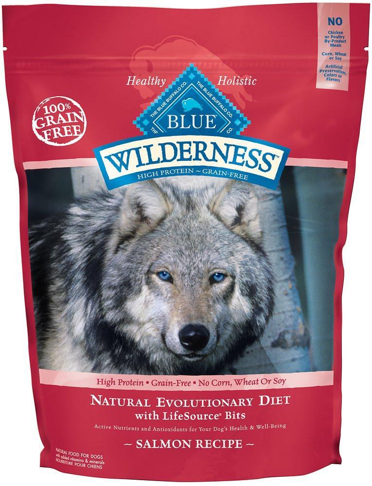 Blue Buffalo Wilderness Salmon Recipe for german shepherds