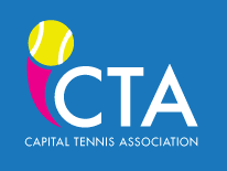 text CTA Capital Tennis Association