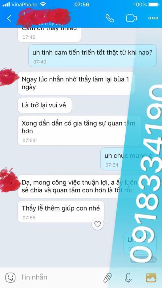 Thầy bùa yêu ở Hưng Yên