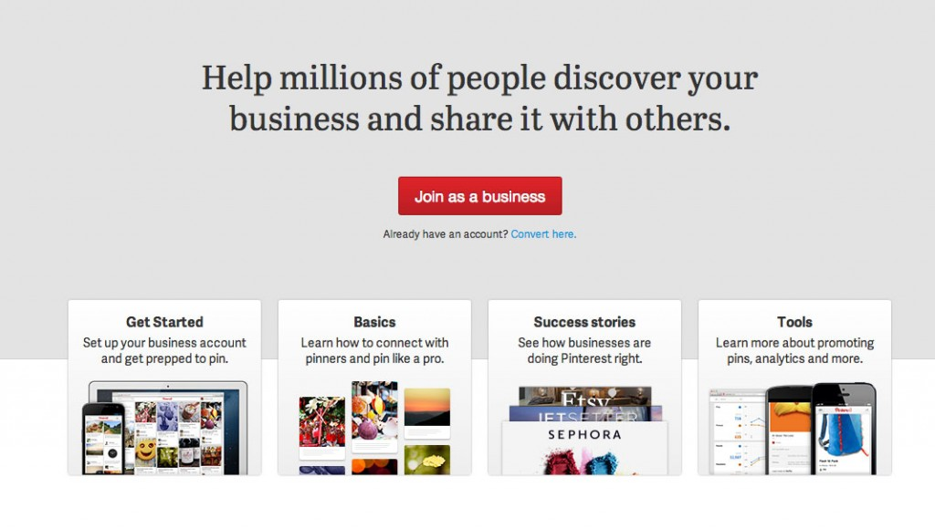 Pinterest for Business Sales