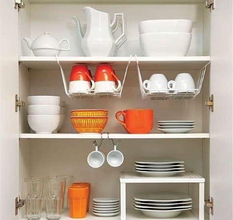Professional organizers know how to maximize the space you already have to find a place for everything.