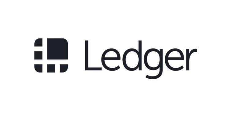 Logo de l'entreprise Ledger, leader de la sécurité pour Bitcoin (BTC) et cryptomonnaies