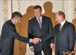 Бойко, Янукович, Путин