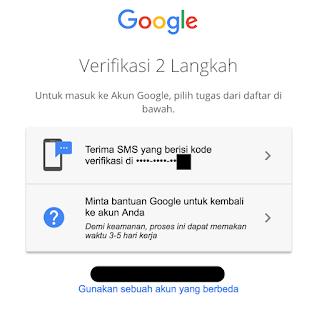 Pemulihan Verifikasi 2 Langkah Karena Kehilangan Nomor Telepon Komunitas Akun Google