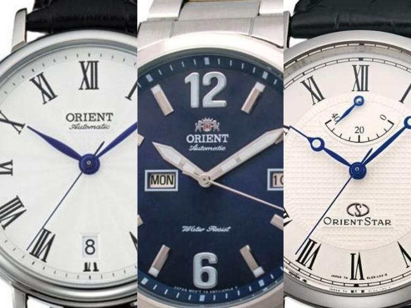 Ba kiểu logo của đồng hồ Orient bạn cần lưu ý để có thể phân biệt đồng hồ Orient thật giả