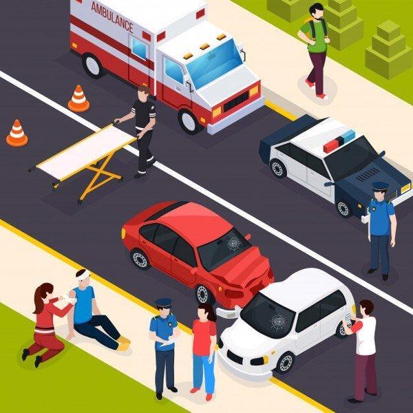 miêu tả một cảnh tai nạn