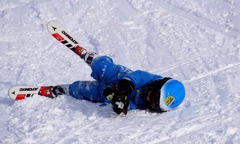 Enfant motivation ski hiver