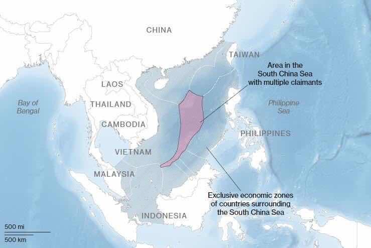 Những cái phi lý và vô pháp của Trung Cộng thể hiện tren bản đồ - Chúng dang chiến thắng trê dư luận ít nhất tại châu Á khi thế giới lơ là và chỉ lo làm ăn với chúng