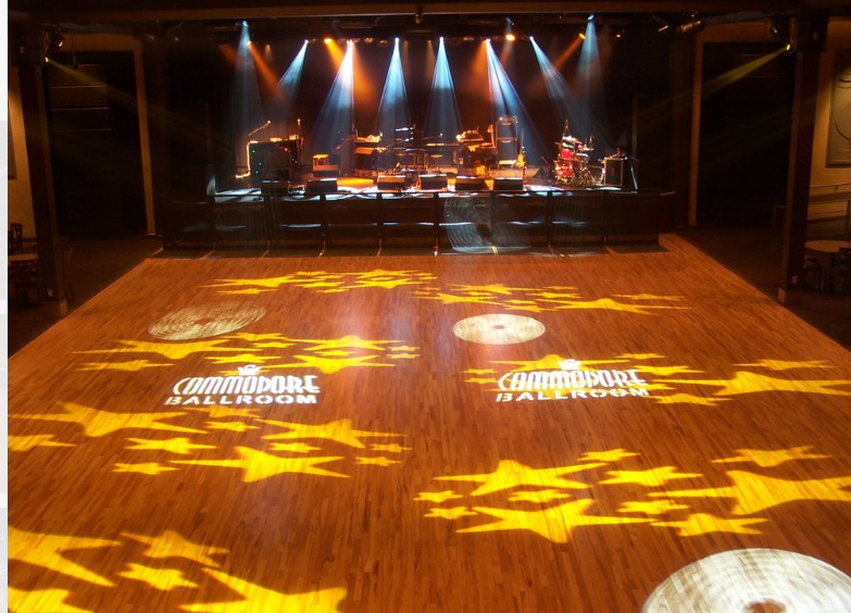 The historic Commodore Ballroom in Vancouver BC is a great band venue.