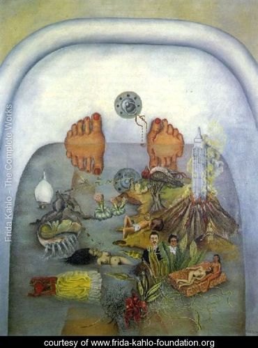 What The Water Gave Me - Frida Kahlo - www.frida-kahlo-foundation.org