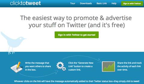 記入済みツイートを作れる「clicktotweet」