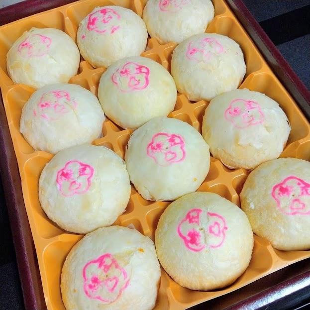 原價690    全系列產品均為純素,不含蛋奶製品 獨門祕方香菇製成噴香內餡 與招牌綠豆餡在口中創造出鹹甜多層次美味
