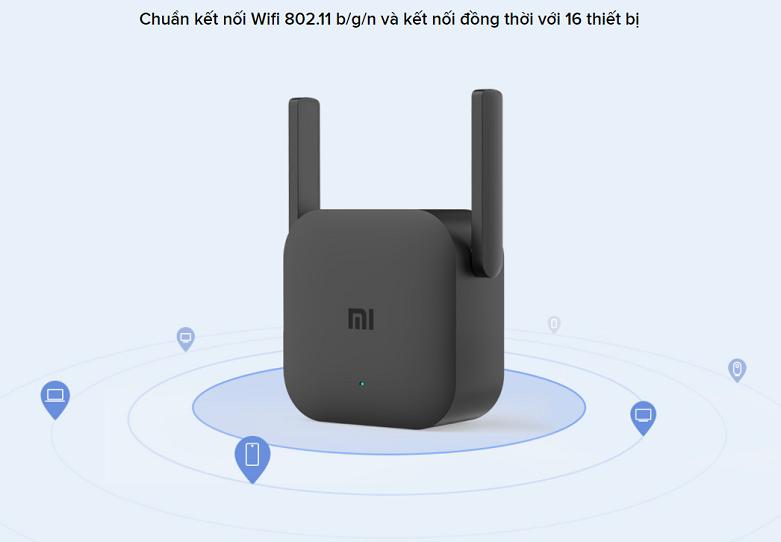 Bộ mở rộng sóng Xiaomi Mi Wifi Range Extender Pro   Chuẩn kết nối