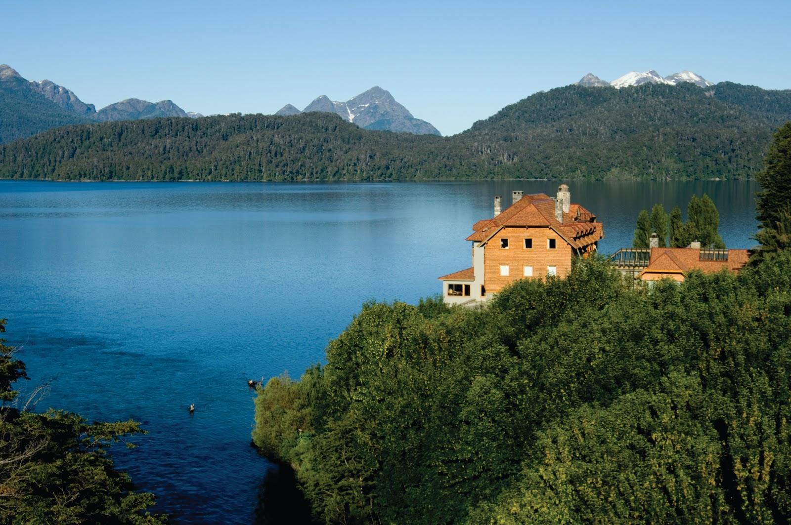 A bela região dos lagos argentina como ponto de partida